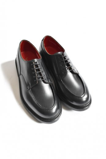 <img class='new_mark_img1' src='https://img.shop-pro.jp/img/new/icons13.gif' style='border:none;display:inline;margin:0px;padding:0px;width:auto;' />Regal Shoe&Co(リーガルシューアンドカンパニー) Standard Saddle Last U-Tip ブラック