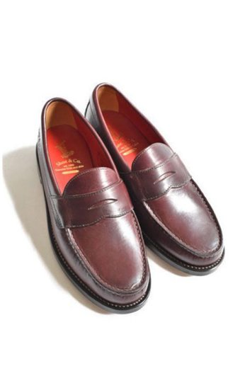 <img class='new_mark_img1' src='https://img.shop-pro.jp/img/new/icons13.gif' style='border:none;display:inline;margin:0px;padding:0px;width:auto;' />Regal Shoe&Co(リーガルシューアンドカンパニー)Genuine Moccasin Coin Loafer バーガンディー