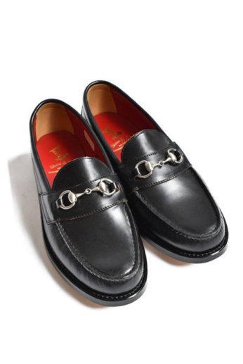 <img class='new_mark_img1' src='https://img.shop-pro.jp/img/new/icons13.gif' style='border:none;display:inline;margin:0px;padding:0px;width:auto;' />Regal Shoe&Co(リーガルシューアンドカンパニー)Genuine Moccasin Bit Loafer ブラック