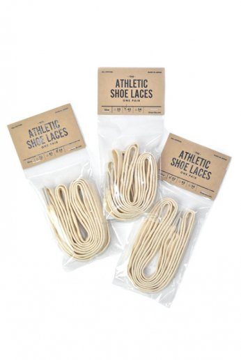 This is...(ディスイズ)All-Cotton Athletic Shoelaces(コットンシューレース)生成り