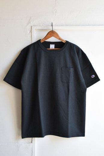 Champion(チャンピオン) T1011 ポケット付きTシャツ ブラック
