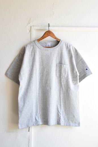 Champion(チャンピオン) T1011 ポケット付きTシャツ オックスフォードグレー