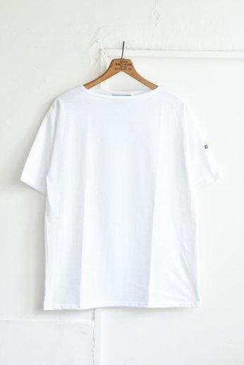 Saint James(セントジェームス) PIRIAC(ピリアック)半袖Tシャツ NEIGE(白)