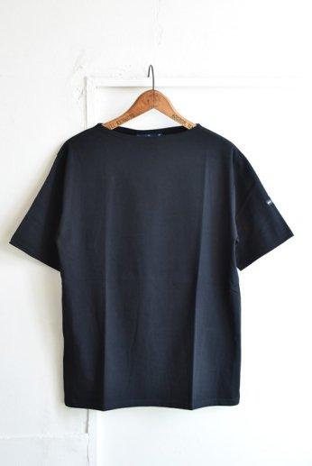 Saint James(セントジェームス) PIRIAC(ピリアック)半袖Tシャツ  NOIR(黒)