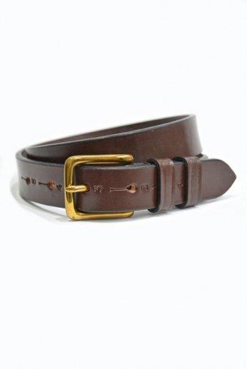 JABEZ CLIFF(ジャベツ・クリフ) STIRRUP Leather Belt(スティラップレザーベルト) ブラウン