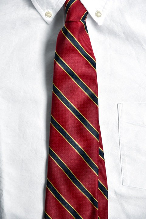 <img class='new_mark_img1' src='//img.shop-pro.jp/img/new/icons55.gif' style='border:none;display:inline;margin:0px;padding:0px;width:auto;' />Brooks Brothers(ブルックス・ブラザーズ) ネクタイ レッド×ネイビー×イエローの写真