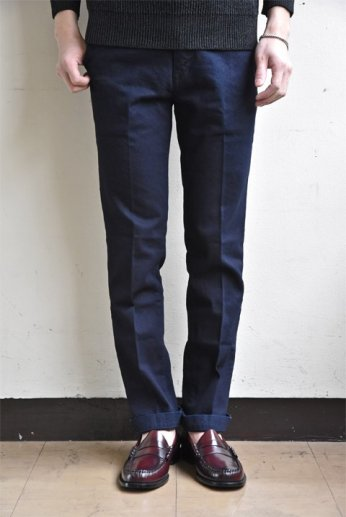 JAPAN BLUE JEANS(ジャパンブルージーンズ) SLIM STRETCH FRENCH WORK TROUSERS インディゴ