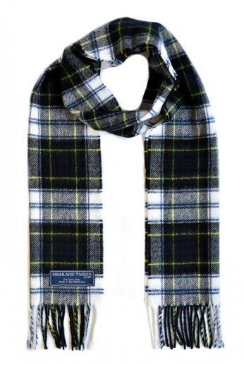 HIGHLAND TWEEDS(ハイランドツイード)ラムウールマフラー DRESS GORDON