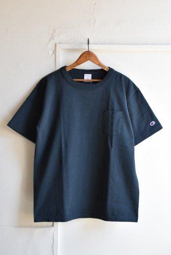Champion(チャンピオン) T1011 ポケット付きTシャツ ネイビー