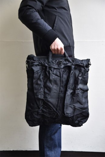 USタイプヘルメットバッグ ブラック