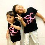 [SALE50%]【KIDS】子供用 迷彩 LOGO Tee ブラック