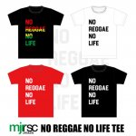 [SALE 50%OFF]NO REGGAE NO LIFE Tシャツ(全3色)
