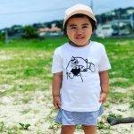 [SALE50%OFF]【KIDS】子供用 caspergraffiti Tee