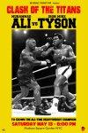 Muhammad Ali アートポスター vs Tyson
