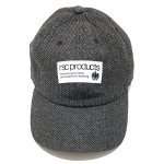 <img class='new_mark_img1' src='https://img.shop-pro.jp/img/new/icons6.gif' style='border:none;display:inline;margin:0px;padding:0px;width:auto;' /> WB HERRINGBONE BASEBALLCAP (BLACK) /  WB ヘリンボーン ベースボールキャップ(黒)