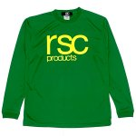 <img class='new_mark_img1' src='https://img.shop-pro.jp/img/new/icons7.gif' style='border:none;display:inline;margin:0px;padding:0px;width:auto;' />[NEW COLOR] LOGO DRY LONG SLEEVE SHIRT  (GREEN) / LOGO DRY ロングスリーブ シャツ(緑)