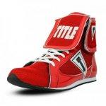 TITLE Acclaim Double-Down ボクシングシューズ 27.5cm (レッド)