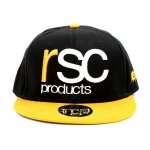 LOGO BASEBALL CAP (黒黄)