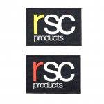 rsc products LOGO ワッペン  ( M )(全2色)