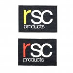 rsc products LOGO ワッペン  ( S )(全2色)