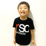 [30%OFF 子供服] KIDS LOGO BLACK T (全4色.90〜150cm)