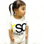 <img class='new_mark_img1' src='https://img.shop-pro.jp/img/new/icons20.gif' style='border:none;display:inline;margin:0px;padding:0px;width:auto;' />[SALE 50%OFF]【KIDS】LOGO white Tシャツ(全4色)