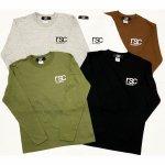 ワンポイントロゴ ロングスリーブ シャツ(全5色)
