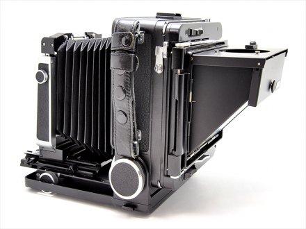 ウィスタ45VX+折畳フードルーペ付 (蛇腹新品に交換済)