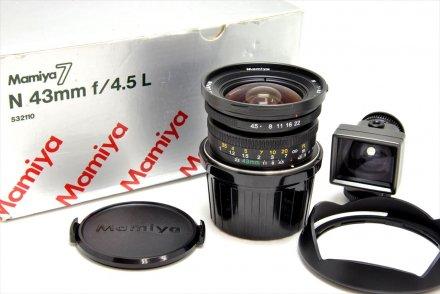 7用N43/4.5L 【レンズ専門業者にて清掃済】