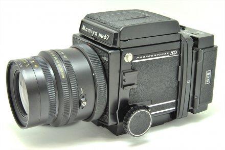 RB67プロSD K/L90/3.5L 電動セット 【ボデー・レンズ整備済】
