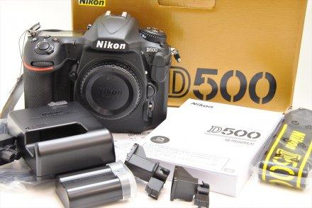 ニコン D500  【元箱一式 未使用・新同品】
