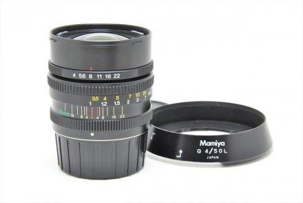 6用G50/4L フード付 【レンズ専門業者にて清掃済】