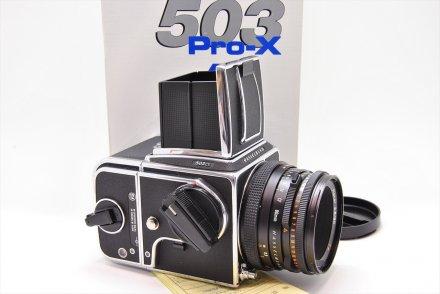 503CX+CF80/2.8+A-12 セット 【ハッセル専門業者にてフルOH済】