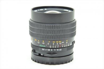 645用 C45/2.8N 【レンズ専門業者にて清掃・調整済】