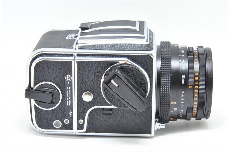 500C/M+CF80/2.8T*+A-12 セット 【ハツミカメラにてフルOH済】