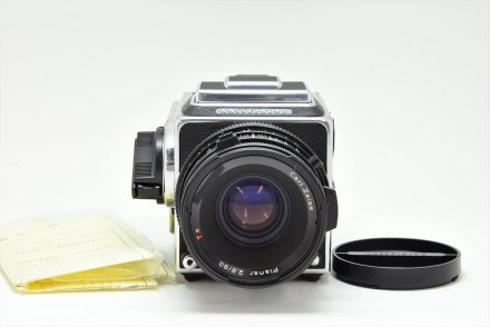 503CXi+CF80/2.8T*+A-12セット【ハツミカメラにてフルOH済】