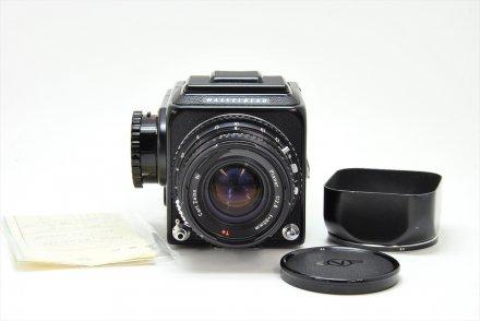 500C/M+C80/2.8T* 黒セット 金属フード付【ハッセル専門業者にてOH済】