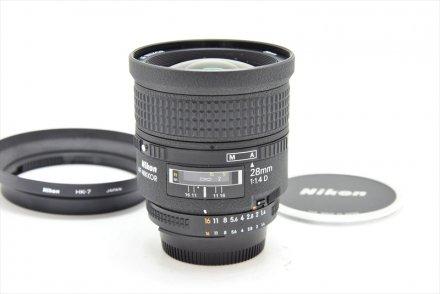 AF 28/1.4D (美品・HK-7フード付)