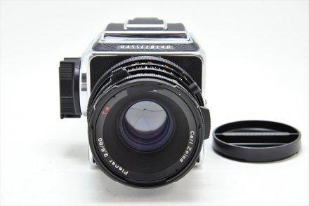 503CX+CF80/2.8T*クロームセット 【ハツミカメラにてフルOH済】
