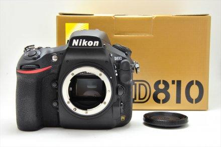 ニコン D810 【元箱、ショット回数:約3400回】