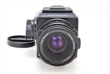 500C/M+CF80/2.8T*+A-12 II型ブラック ブラックセット 【ハッセル専門業者にてフルOH済】
