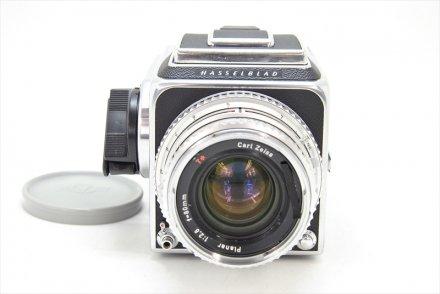 500C/M 10周年+C80/2.8T* シルバー+A-12 II型 セット 【ハッセル修理業者、ハツミカメラにてフルOH済】