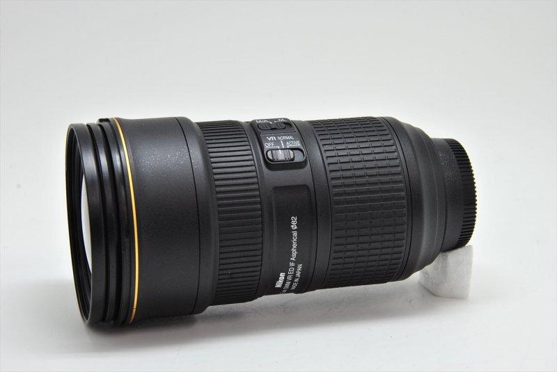 AF-S 24-70/2.8E ED VR ナノクリスタル 【元箱・メーカー保証書・ケース・フード付】