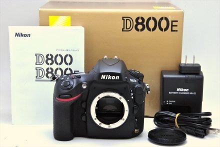 D800E 【Nikon修理認定店にて点検済/ショット数:約54,100回以下】