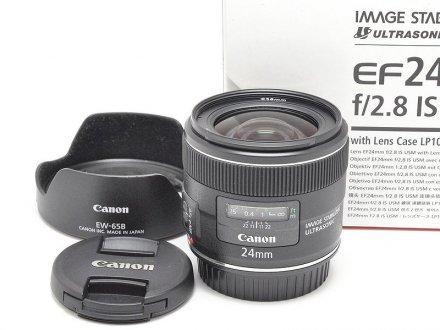 EF24/2.8 IS USM 【メーカー保証書・元箱】