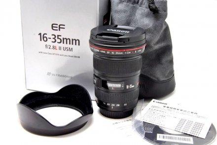 EF16-35/2.8L IIUSM 【メーカー保証書・元箱付】