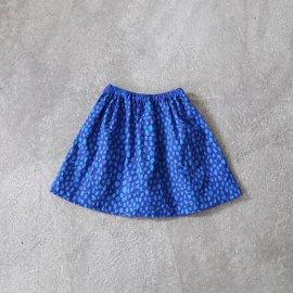 ank210 マクモプリントギャザースカート(kids size/S)
