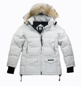 CANADA GOOSE<br>SOLARIS PARKA <br>Color: SILVER BIRCH(Ladies)