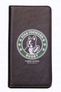 rugby junky<br>STAR FORWARD iPhoneX 対応手帳型<img class='new_mark_img2' src='https://img.shop-pro.jp/img/new/icons5.gif' style='border:none;display:inline;margin:0px;padding:0px;width:auto;' />
