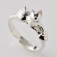 猫指輪リング「あ・げ・る」【SALE品】